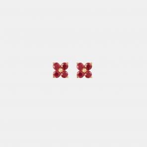 Puces d'oreilles Colors Fleurette
