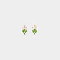Puces d'oreilles Colors Coeur